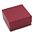 Stylish Cranberry Square Cardboard Gift Box with Magnetic Lid Closure