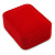 Luxury Red Velour Brooch/ Pendant/ Earring Jewellery Box - view 1