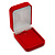 Luxury Red Velour Brooch/ Pendant/ Earring Jewellery Box - view 2