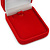 Luxury Red Velour Brooch/ Pendant/ Earring Jewellery Box - view 3