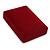 Luxury Burgundy Red Velour Brooch/ Pendant/ Earring/ Hair Accessories Jewellery Box - view 7