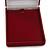 Luxury Burgundy Red Velour Brooch/ Pendant/ Earring/ Hair Accessories Jewellery Box - view 3