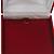Luxury Burgundy Red Velour Brooch/ Pendant/ Earring/ Hair Accessories Jewellery Box - view 4
