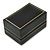 Black Leatherette One & Two Rings Box (Rings are not included) - view 3