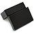 Black Leatherette One & Two Rings Box (Rings are not included) - view 5