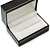 Black Leatherette One & Two Rings Box (Rings are not included) - view 4