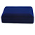 Luxury Blue Velour Brooch/ Pendant/ Earring/ Comb Jewellery Box - view 3