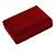 Luxury Burgundy Velour Brooch/ Pendant/ Earring/ Comb Jewellery Box - view 8