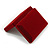 Luxury Burgundy Velour Brooch/ Pendant/ Earring/ Comb Jewellery Box - view 6