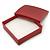 Glitter Red Earrings/ Brooch/ Pendant/ Set Jewellery Box - view 2