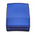 Square Blue Ring/ Stud Earrings/ Small Brooch Jewellery Box - view 6