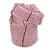 Ring/ Pendant/ Earrings Light Pink Glass Bead Handmade Box - view 7