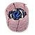 Ring/ Pendant/ Earrings Light Pink Glass Bead Handmade Box - view 9