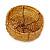 Ring/ Pendant/ Earrings Honey Gold Glass Bead Handmade Box - view 8