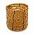 Ring/ Pendant/ Earrings Honey Gold Glass Bead Handmade Box - view 7