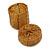 Ring/ Pendant/ Earrings Honey Gold Glass Bead Handmade Box - view 10