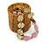 Ring/ Pendant/ Earrings Honey Gold Glass Bead Handmade Box - view 2