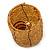 Ring/ Pendant/ Earrings Honey Gold Glass Bead Handmade Box - view 4