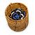 Ring/ Pendant/ Earrings Honey Gold Glass Bead Handmade Box - view 11