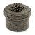 Bracelet/ Ring/ Pendant/ Earrings/ Jewellery Set Pewter Glass Bead Handmade Box - 75mm D/ 60mm H - view 4