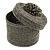 Bracelet/ Ring/ Pendant/ Earrings/ Jewellery Set Pewter Glass Bead Handmade Box - 75mm D/ 60mm H