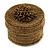 Bracelet/ Ring/ Pendant/ Earrings/ Jewellery Set Bronze Glass Bead Handmade Box - 75mm D/ 60mm H - view 5