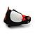 Black/ White Velour Penguin Jewellery Box For Small Ring/ Stud Earrings - view 5