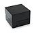 Luxury Wooden Black Gloss Wedding Double Ring/ Stud Earrings Box (Rings are not included) - view 2