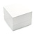 Luxury Wooden Snow White Gloss Wedding Double Ring/ Stud Earrings Box (Rings are not included) - view 3