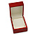 Luxury Wooden Red Mahogany Gloss Earrings/ Pendant Box (Earrings are not included) - view 9