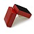 Luxury Wooden Red Mahogany Gloss Earrings/ Pendant Box (Earrings are not included) - view 7