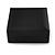 Luxurious Black Matt Wood Jewellery Presentation Box (Earrings, Brooch, Bracelet, Pendant) - view 8