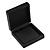 Luxurious Black Matt Wood Jewellery Presentation Box (Earrings, Brooch, Bracelet, Pendant)
