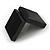 Luxurious Black Matt Wood Jewellery Presentation Box (Earrings, Brooch, Bracelet, Pendant) - view 9