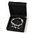 Luxurious Black Matt Wood Jewellery Presentation Box (Earrings, Brooch, Bracelet, Pendant) - view 6