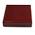 Luxury Large Wooden Mahogany Gloss Necklace/ Pendant/ Set/ Brooch/ Earring Box (Necklace is not included) - view 4