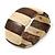 Brown/ Natural Wooden Station Flex Bracelet - 17cm L - view 4