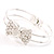 Bow Fashion Bangle Bracelet