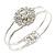 Floral Fashion Bangle Bracelet