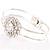 Floral Fashion Bangle Bracelet - view 5