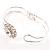 Floral Fashion Bangle Bracelet - view 4