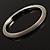 Slim Stainless Steel Mesh Bangle Bracelet