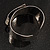 Hammered Stainless Steel Tribal Sail Cuff-Bangle - view 11