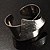 Hammered Stainless Steel Tribal Sail Cuff-Bangle - view 13