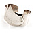 Hammered Stainless Steel Tribal Sail Cuff-Bangle - view 2
