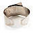 Hammered Stainless Steel Tribal Sail Cuff-Bangle - view 5