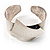 Hammered Stainless Steel Tribal Sail Cuff-Bangle - view 3