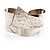 Hammered Stainless Steel Tribal Sail Cuff-Bangle - view 12