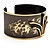 Stylish Black 'Crown' Ethnic Cuff Bangle - view 10