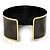 Stylish Black 'Crown' Ethnic Cuff Bangle - view 6